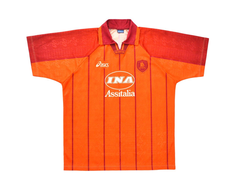 Image of 1996-97 Asics Roma Third Shirt L