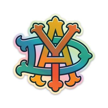 Image of DAY Monogram Hologram Sticker