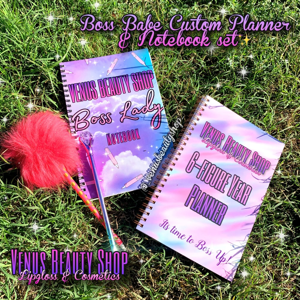Boss Babe Custom Notebook and Planner Sets 💕