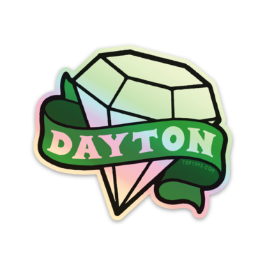 Image of Dayton Gem Hologram Sticker