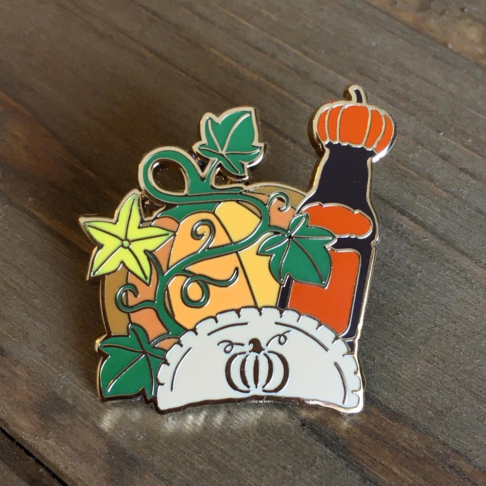 Image of Pumpkin Everything Pin