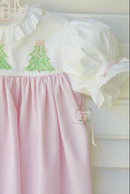 Image 3 of Hand Painted Christmas Tree Dress