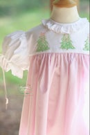 Image 1 of Hand Painted Christmas Tree Dress