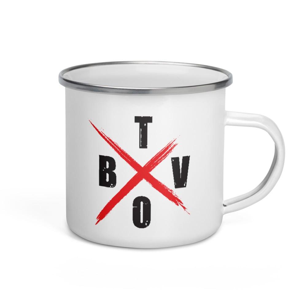The BVTO-12 oz Enamel Mug