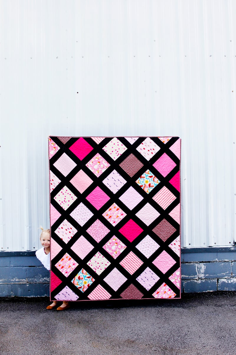 Image of the SCRAPPY GRID quilt Pattern