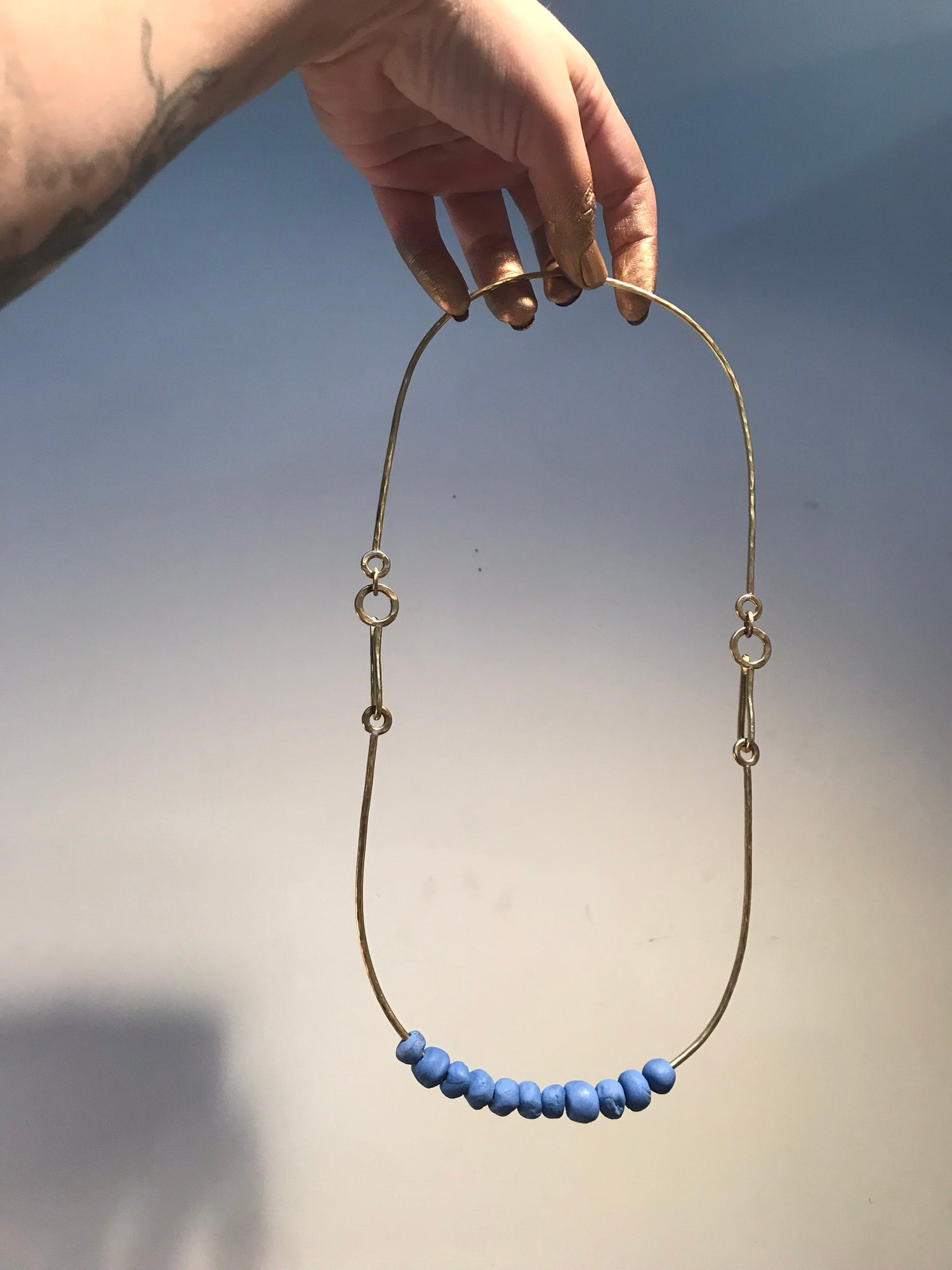 Image of Running in place necklace