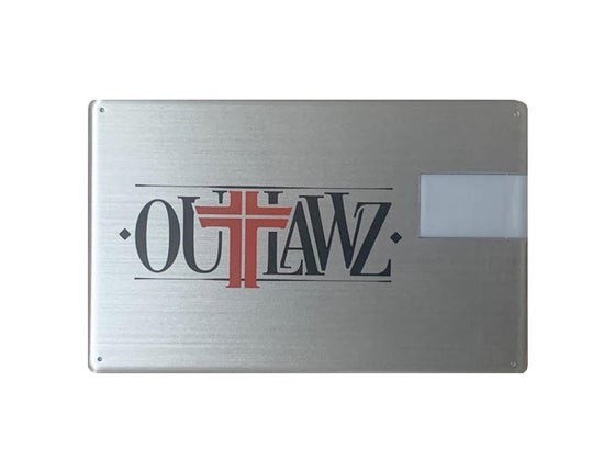 Image of Outlawz Titanium Flash drive - 9 albums & mixtapes