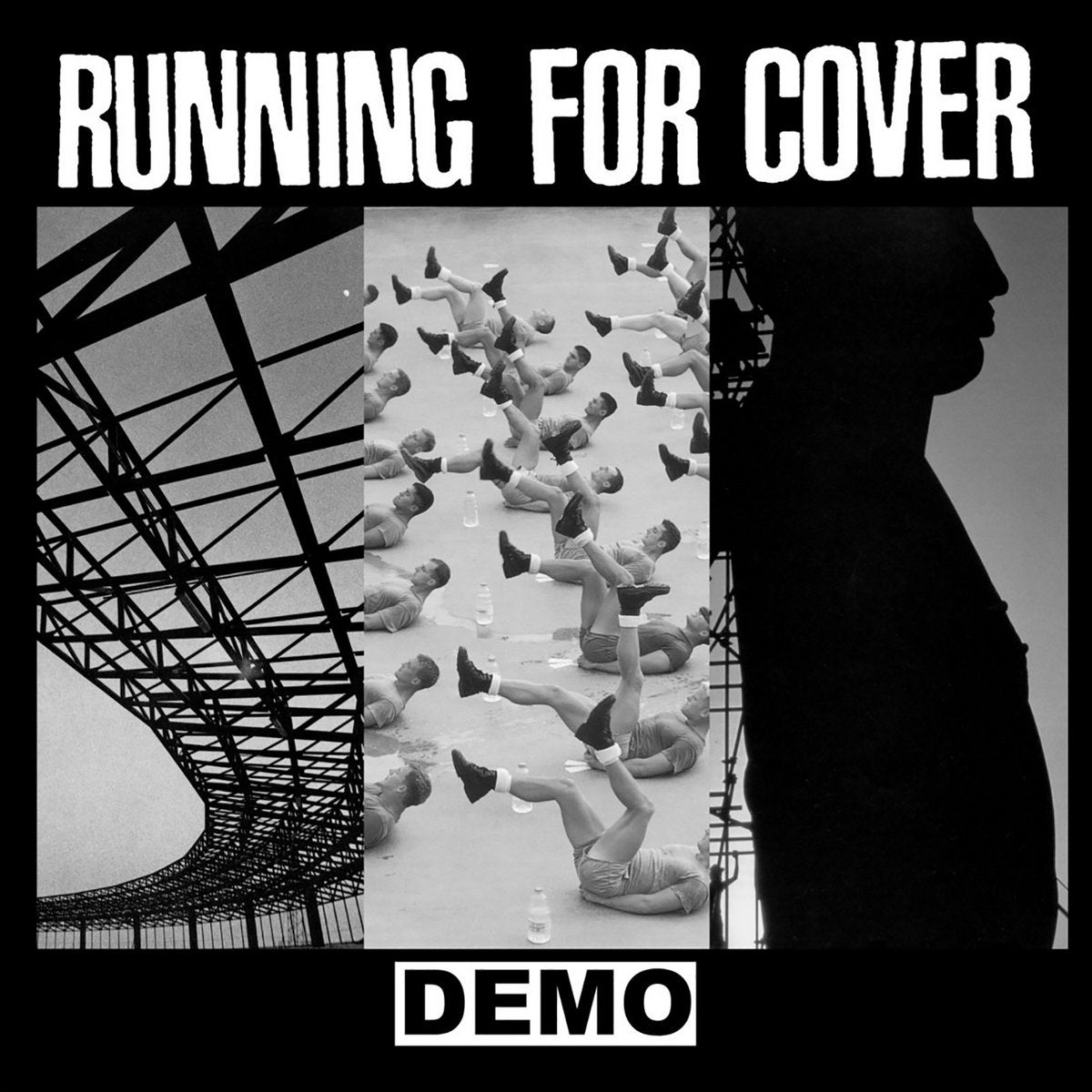 Image of RUNNING FOR COVER - Demo LP