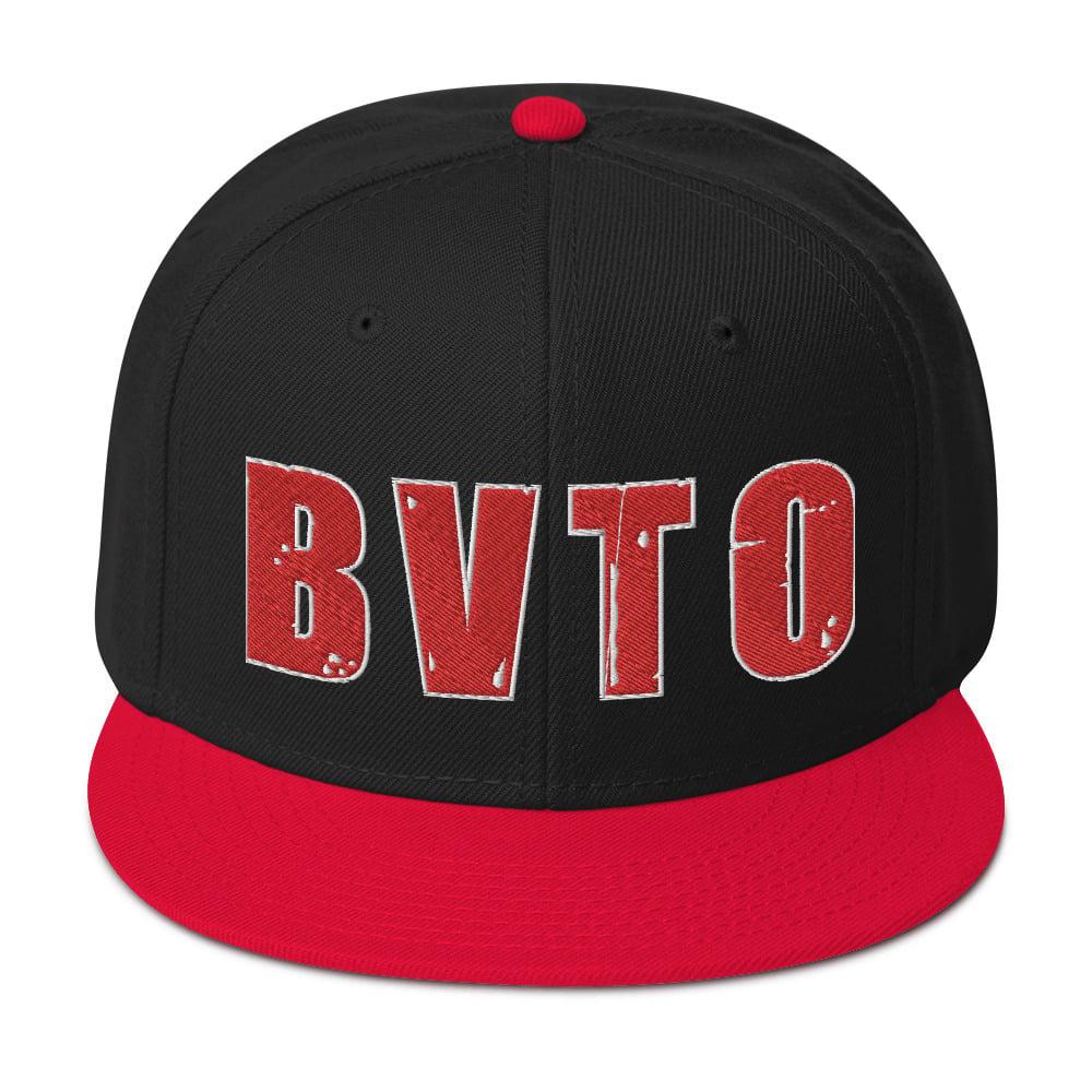 BVTO-Red Snapback