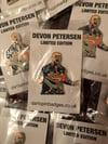 Devon Petersen Limited Edition Pin Badge