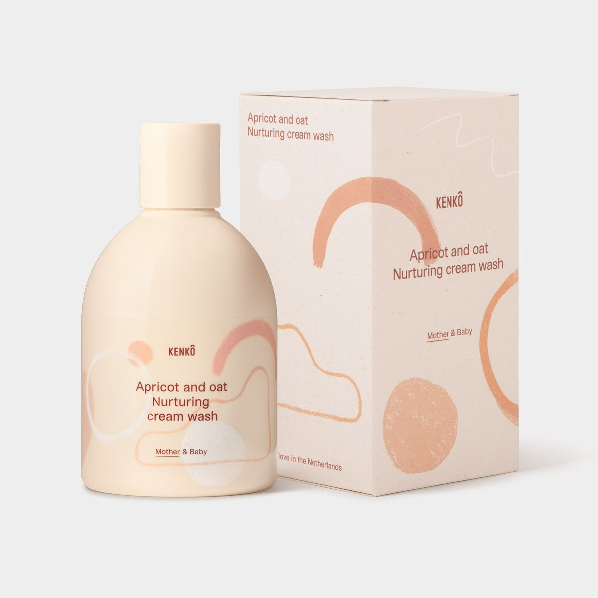 Image of Kenkô Apricot And Oat Nurturing Cream Wash Mother