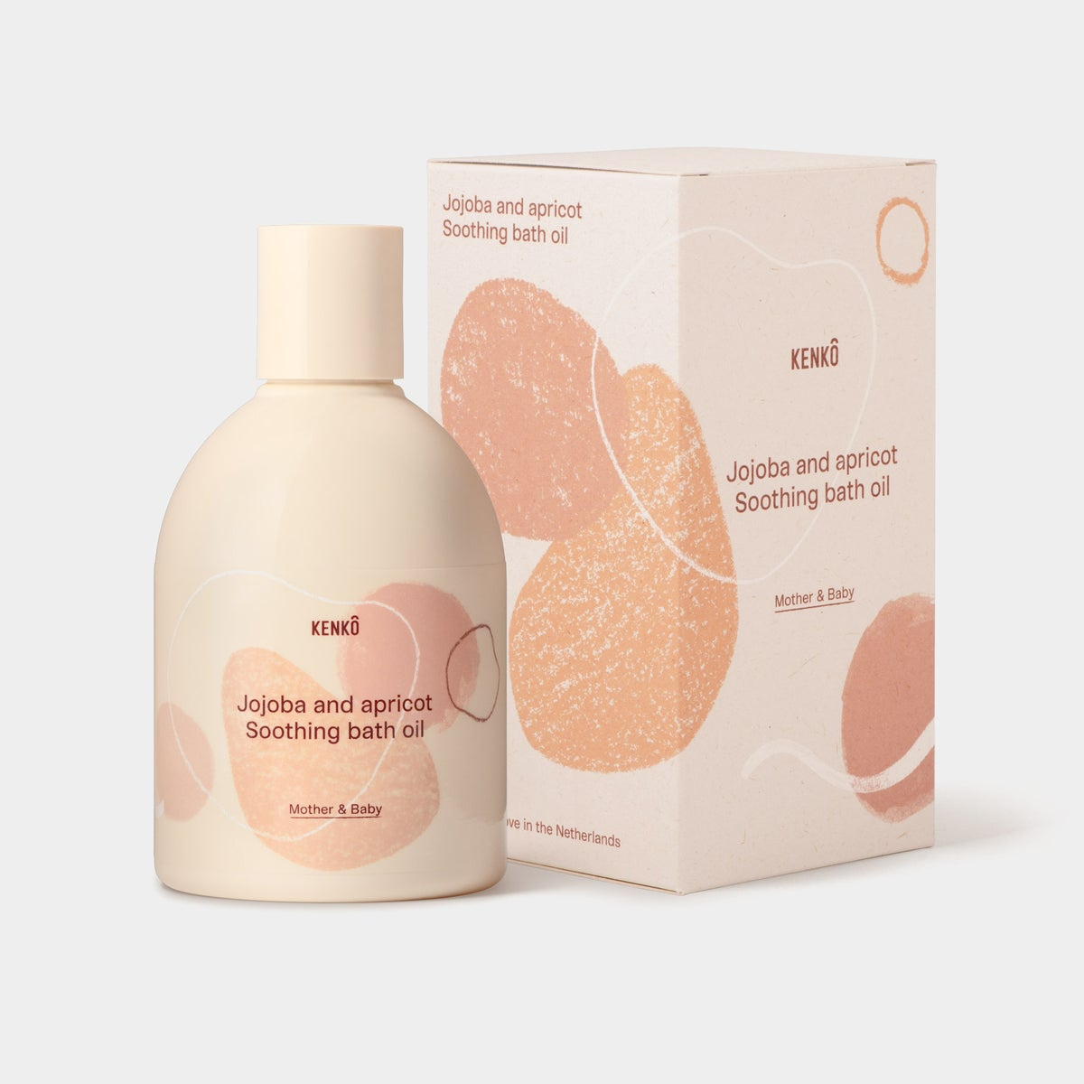 Image of Kenkô Jojoba & Apricot Soothing Bath Oil Mother & Baby