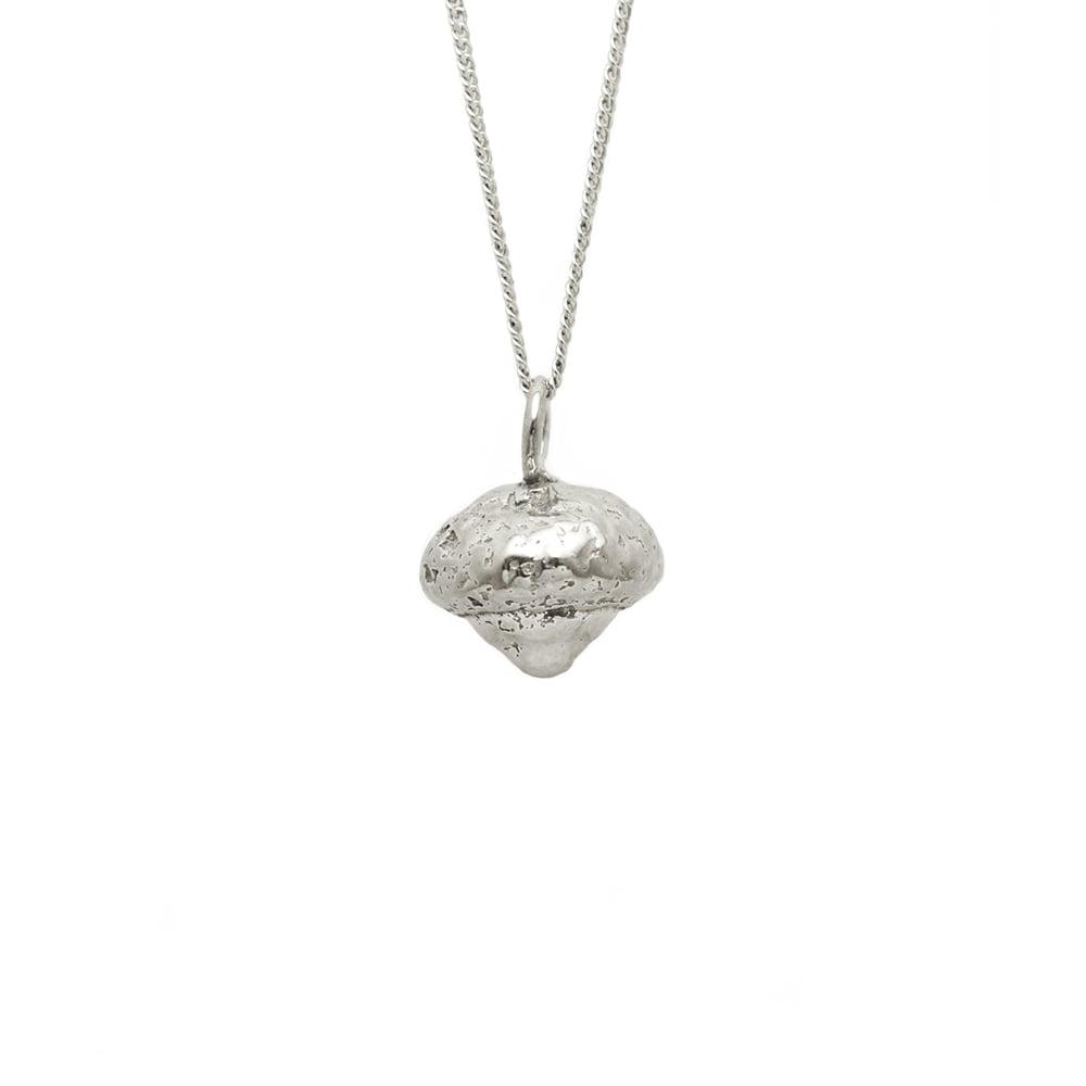 Image of Acorn Necklace 3D Organic