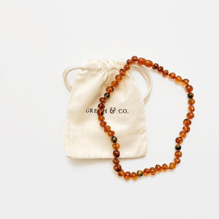 Image of Grech & Co Amber Necklace Fierce