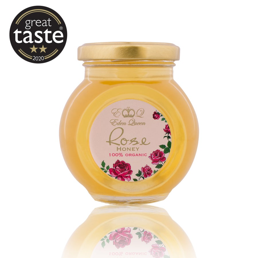 Image of Raw Organic Rose Honey (280grams)