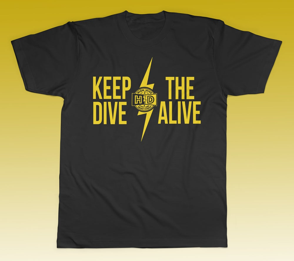 """Keep the Dive Alive"" Shirt"