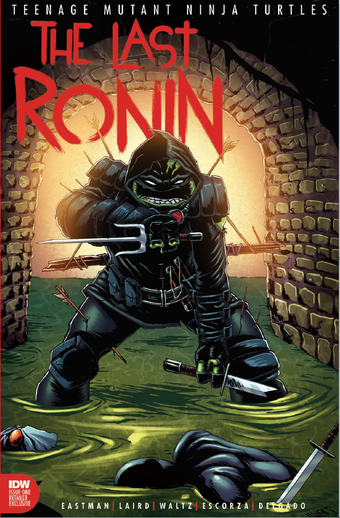 Image of TMNT THE LAST RONIN #1 Jason Flowers Epikos Exclusive Limit 200