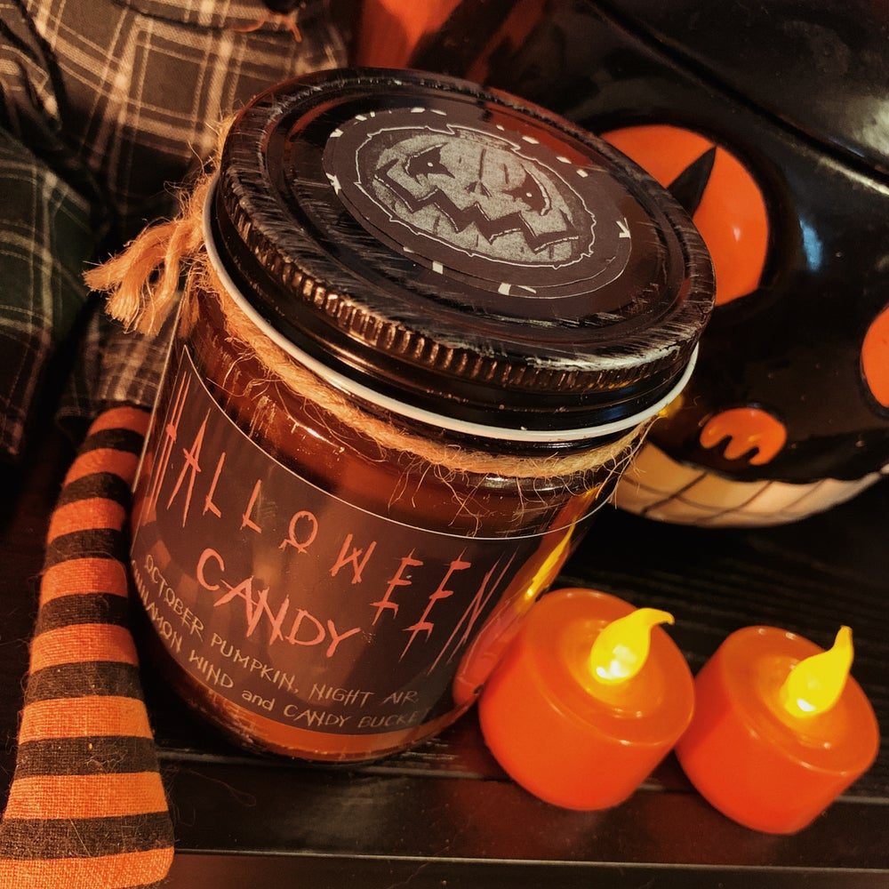 Image of Halloween Candy Candle