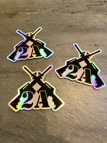Image of 2A HOLOGRAPHIC DECAL
