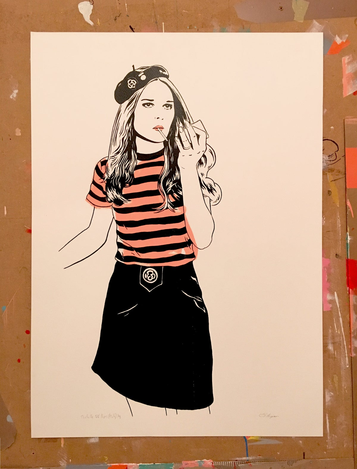 Image of Michelle Phillips (Version Pink)