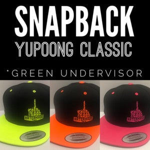 Image of SNAPBACK - Neon Finger