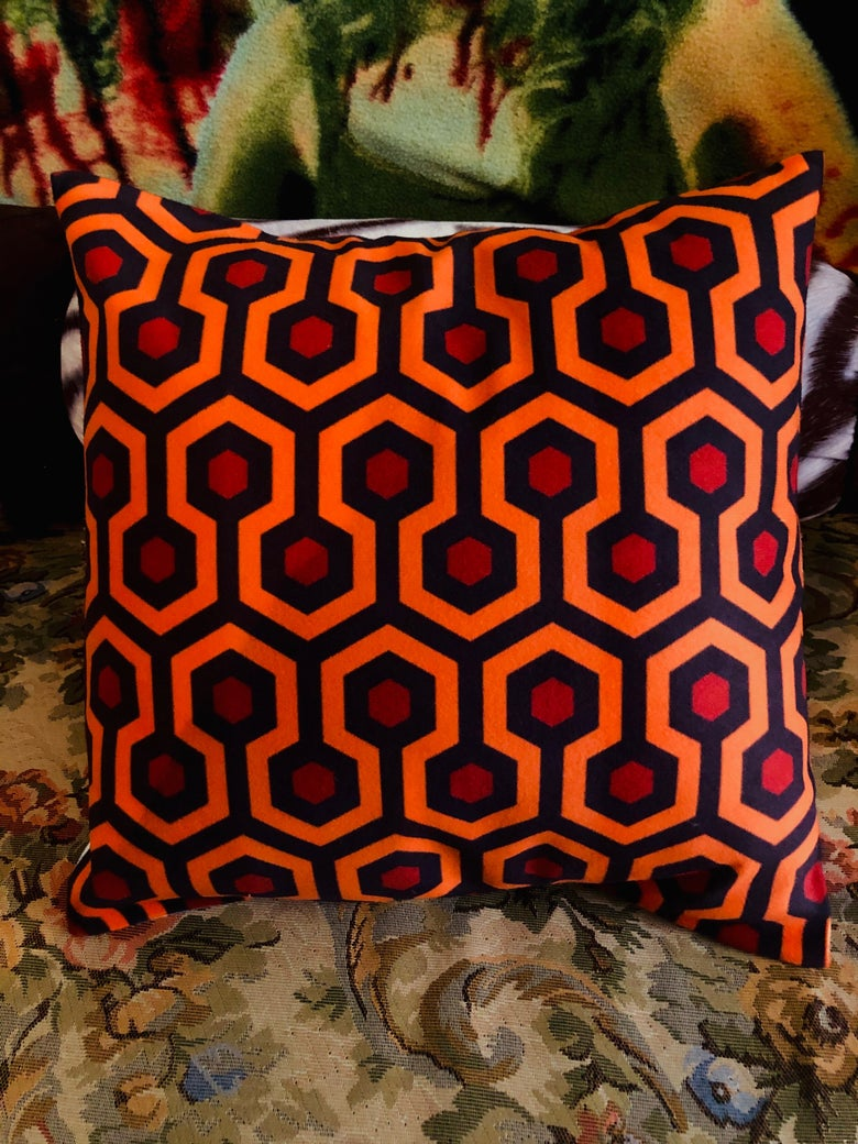 Image of Overlook Hotel Pillow