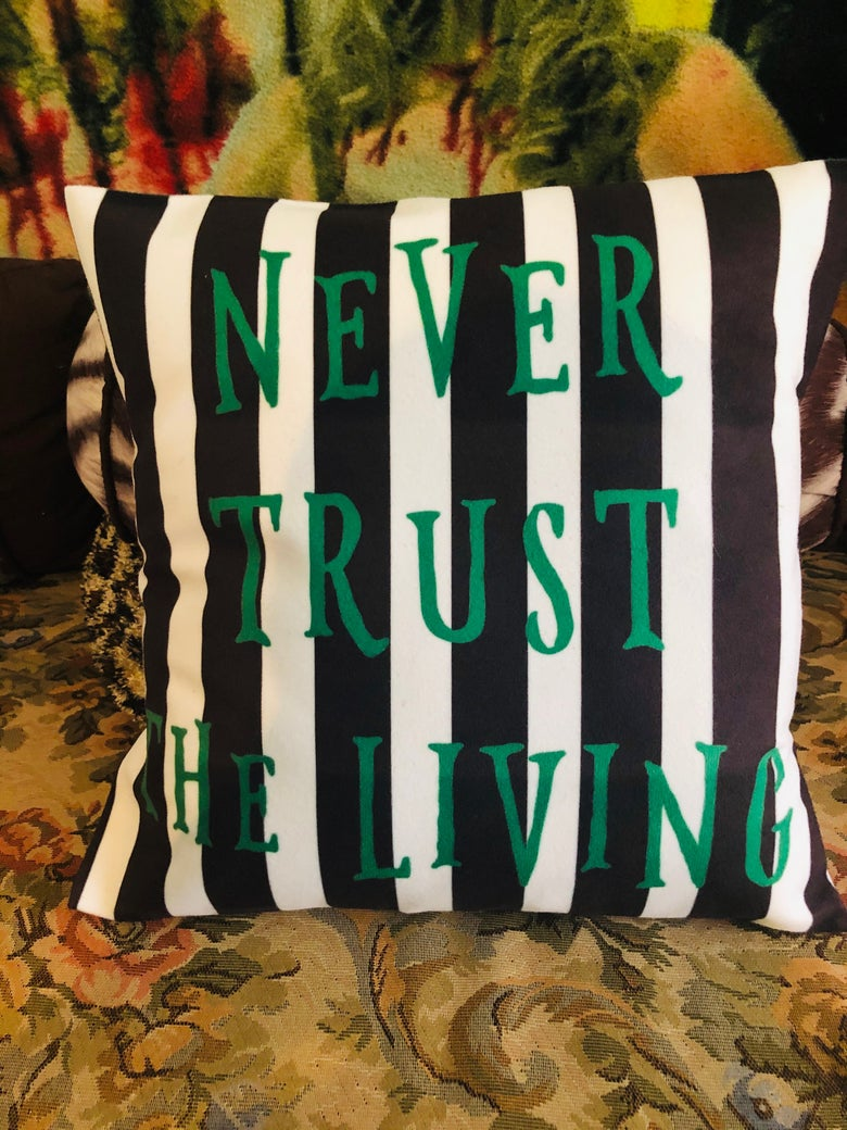 Image of BeetleJuice Pillow