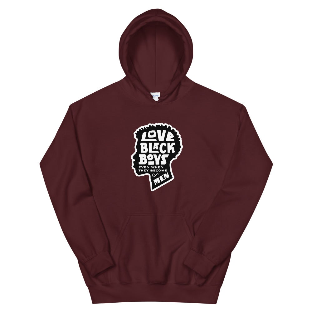 Love Black (B)...Even When - Hoodie (U)