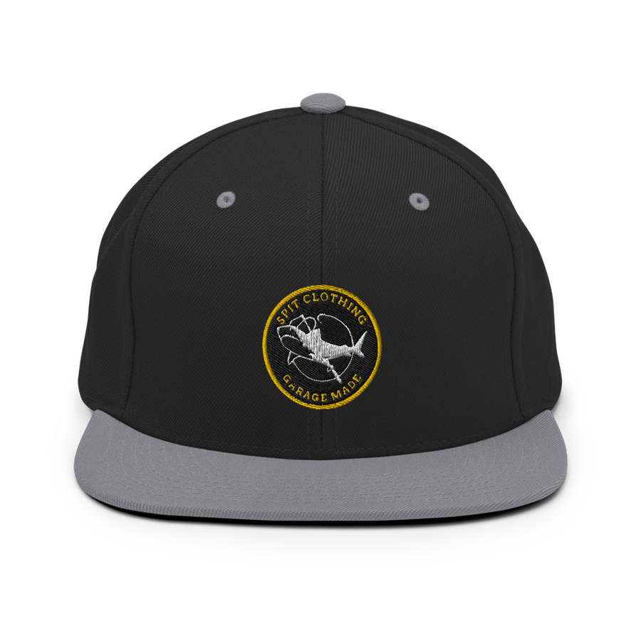 Image of Spit Big Catch Snapback (Black/Grey)