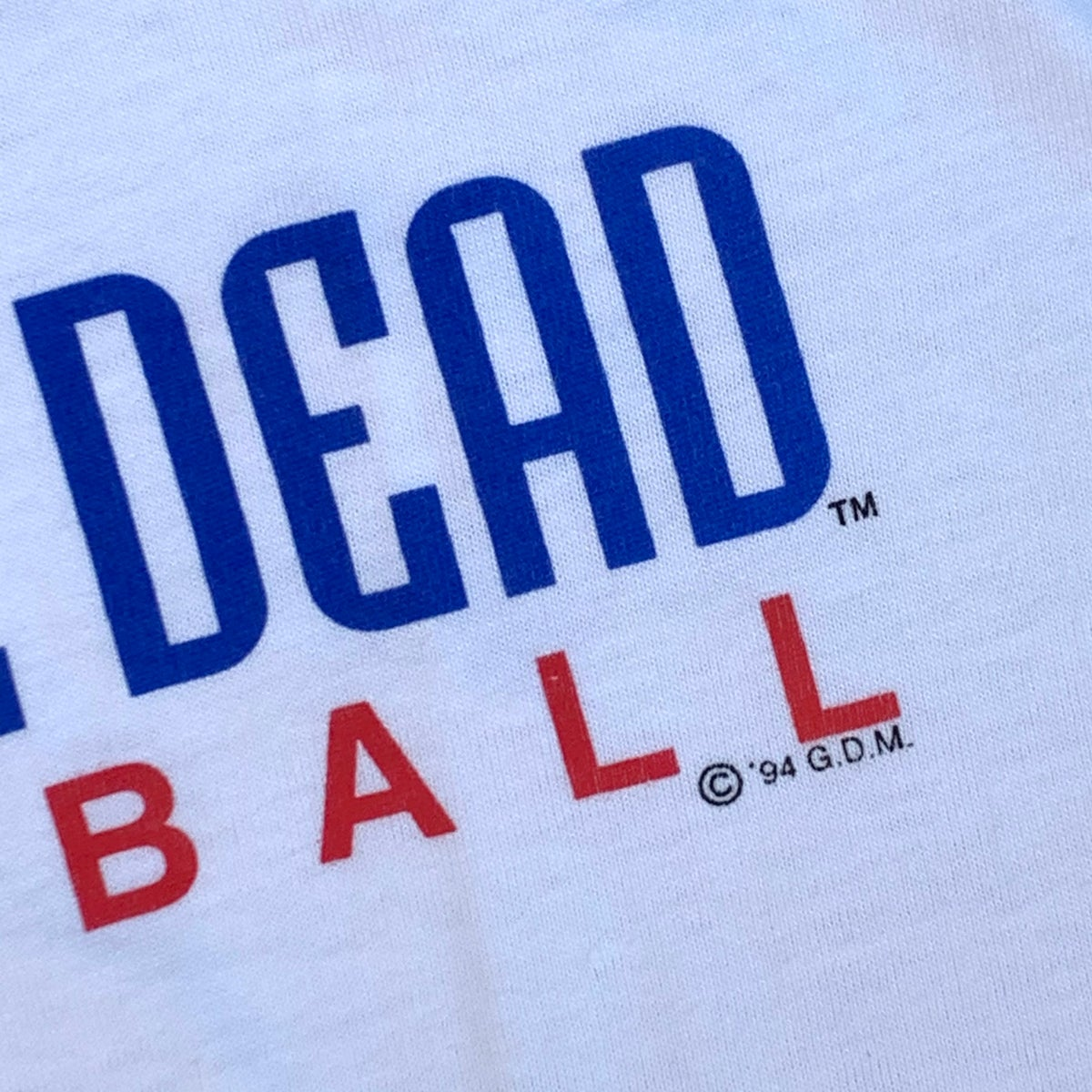 Original Vintage Grateful Dead Basketball 1994 Short Sleeve Tee! LARGE