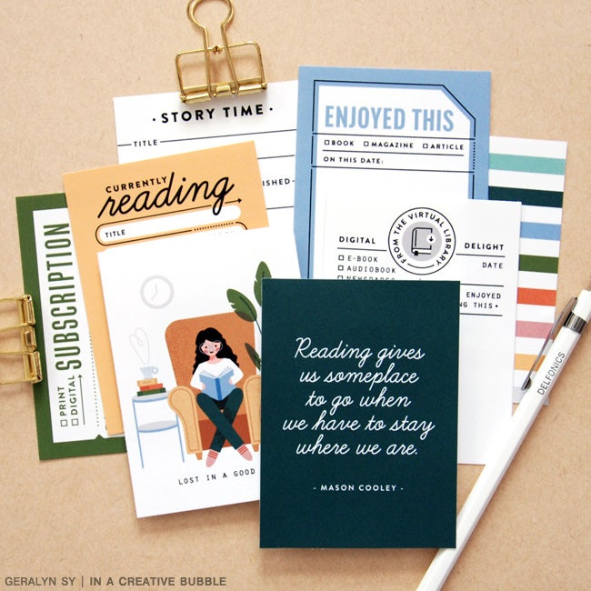 Image of On the Shelf Journaling Cards (Digital)