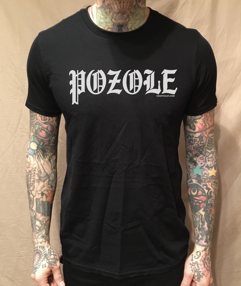 Image of POZOLE BLACK TEE