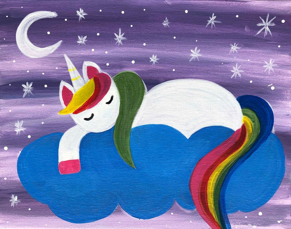 Image of Sleeping Unicorn