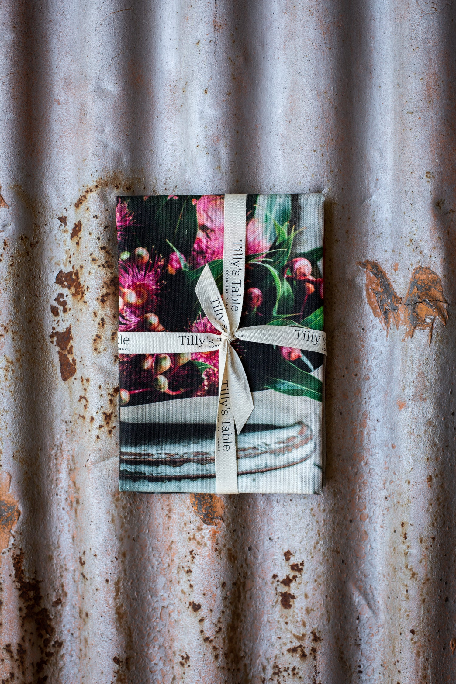 Image of Flowering Gum — Tea Towel