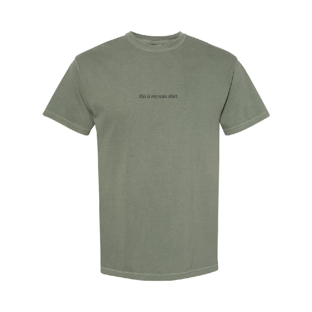 I Wish It Would Rain T-shirt (Olive)