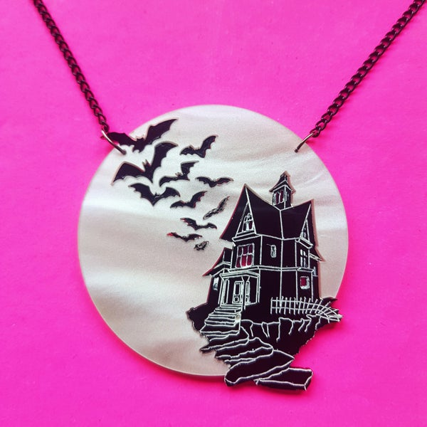 Image of Haunted House Necklace - PRE-ORDER