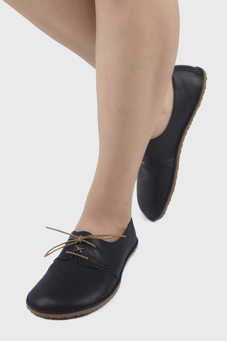 Image of Bliss flats in Matte Black