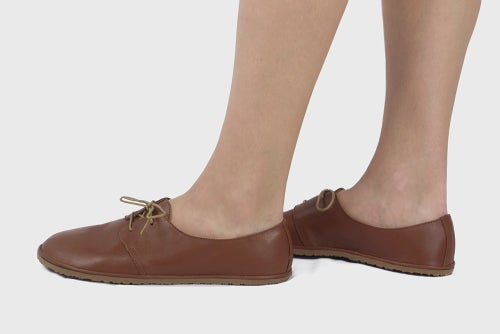 Image of Bliss flats in Tobacco brown