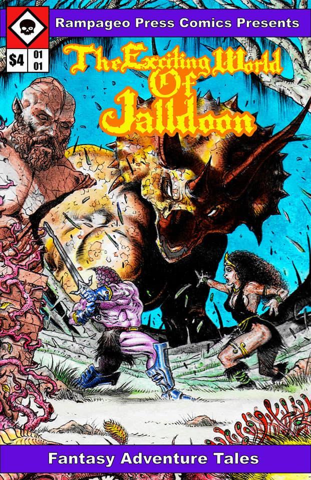 Image of TEWOJ Comics Issue #1