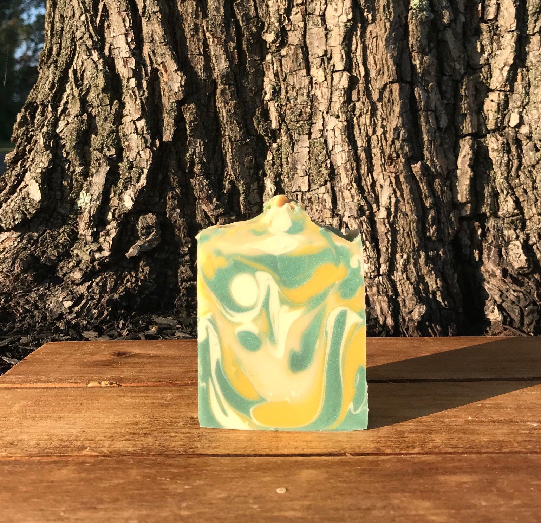 Image of Coconut Lemongrass Soap Bar