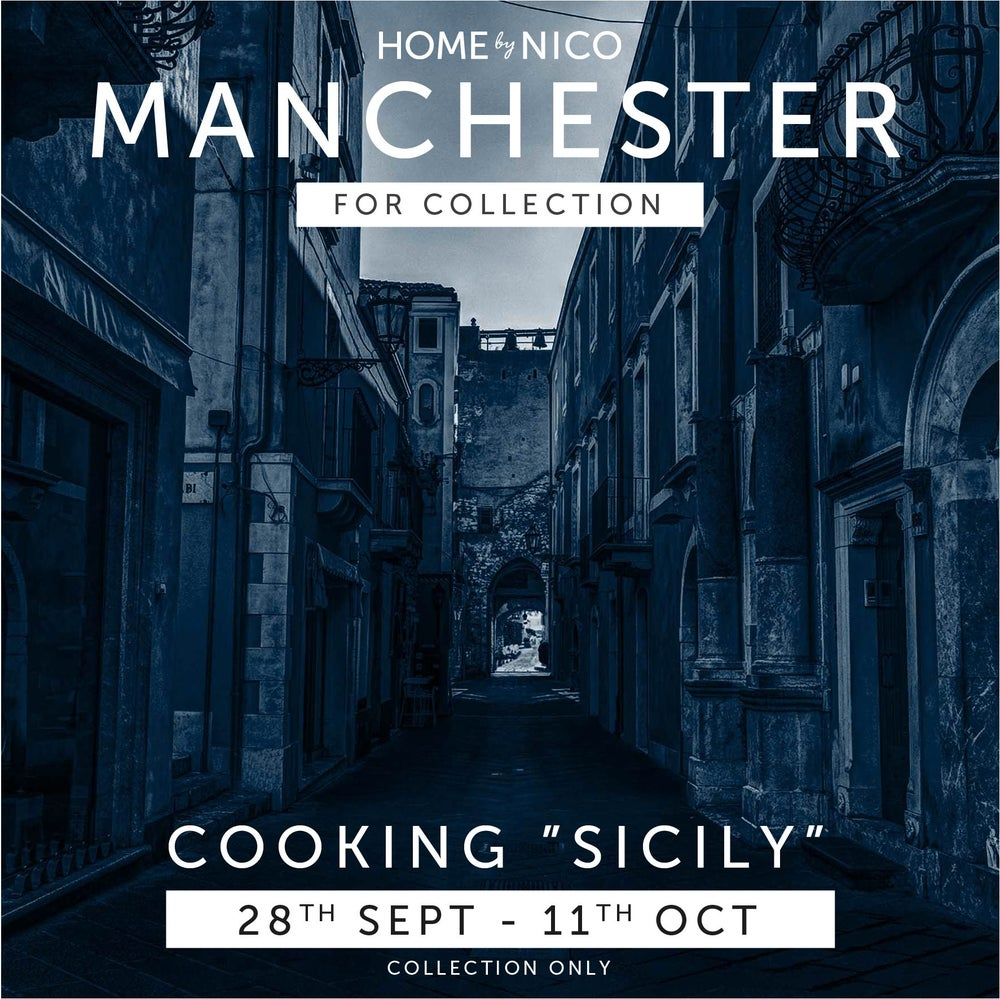 "Image of MANCHESTER COLLECTION: 5-Course ""Sicily"" Experience for Two £50"