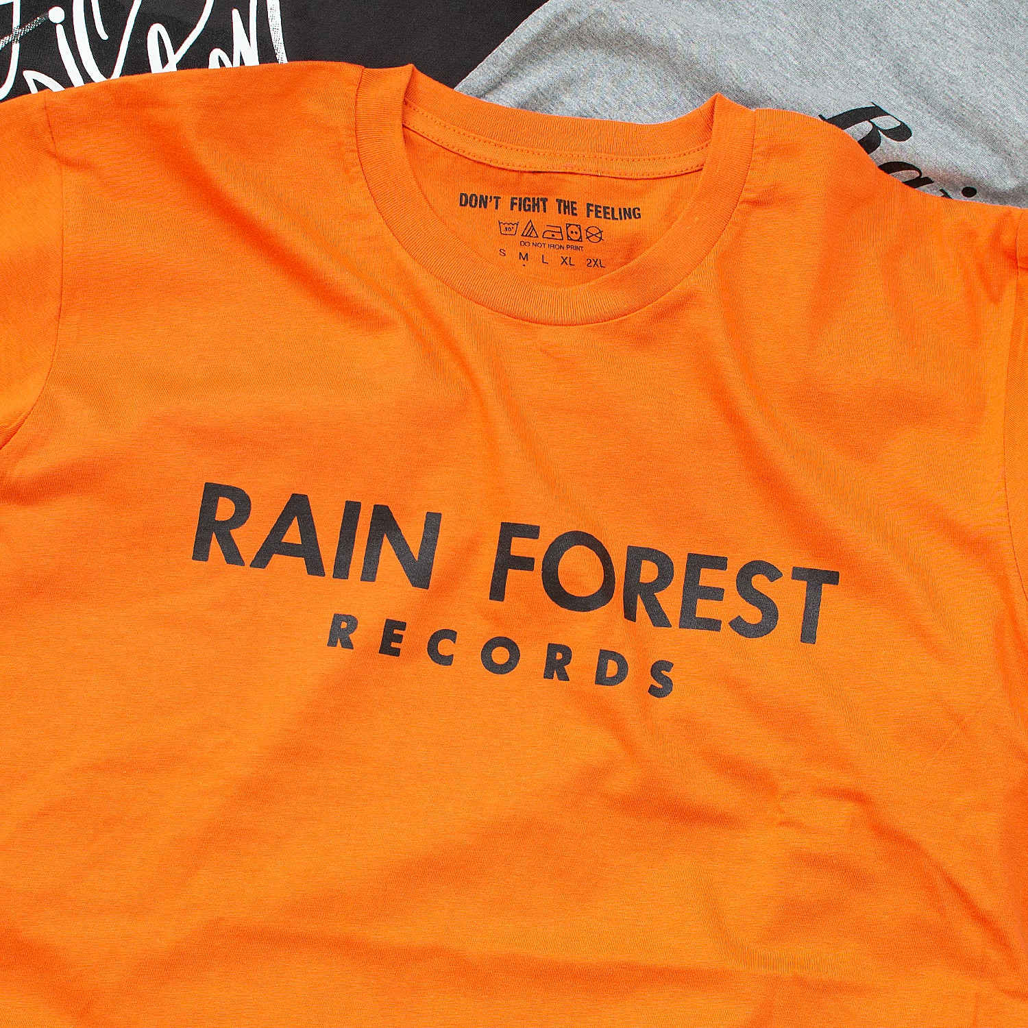 Image of Black Music Education & Rain Records Shirts Exclusive Offer 2-for-1