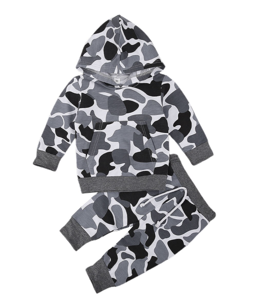 Grey Camo Outfit