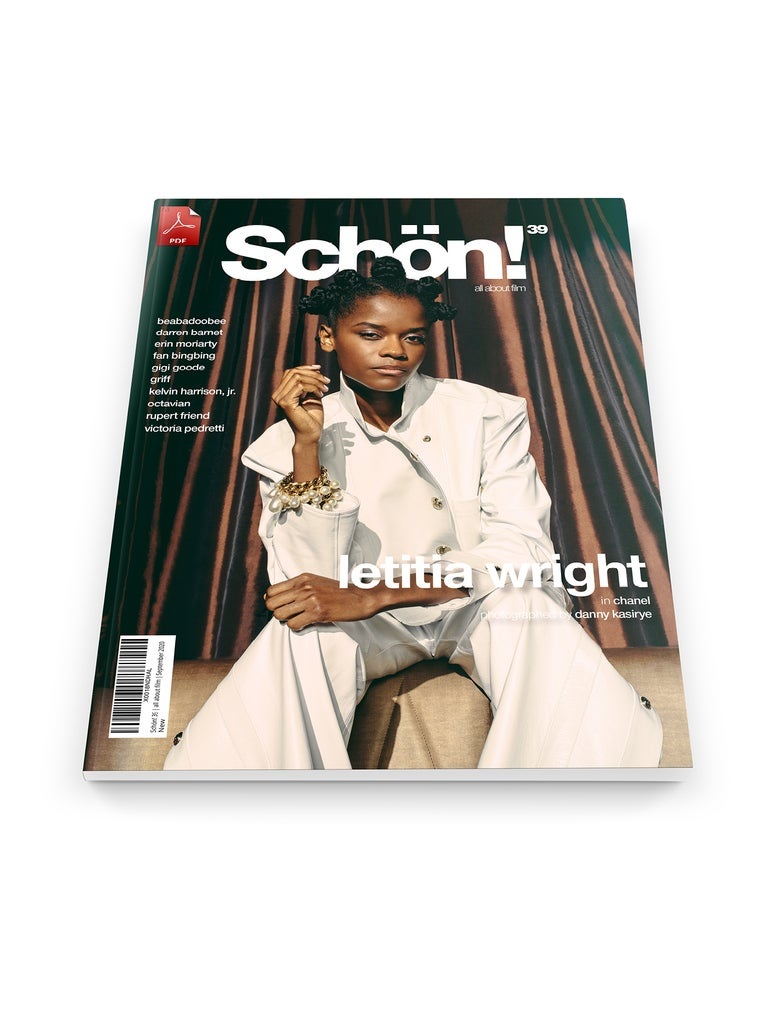 Image of Schön! 39 | Letitia Wright by Danny Kasirye | eBook download