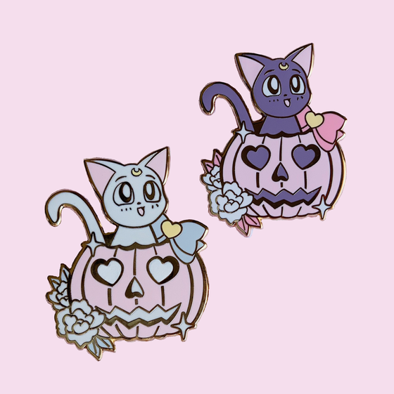 Image of Pumpkin Luna & Artemis