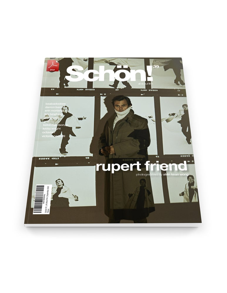 Image of Schön! 39 | Rupert Friend by Alvin Kean Wong | eBook download