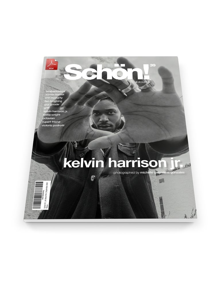 Image of Schön! 39 | Kelvin Harrison, Jr. by Michelle Genevieve Gonzales | eBook download