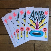 Image of ACAB Risography Print 1 - Limited - SHIPPING TO EUROPE ONLY