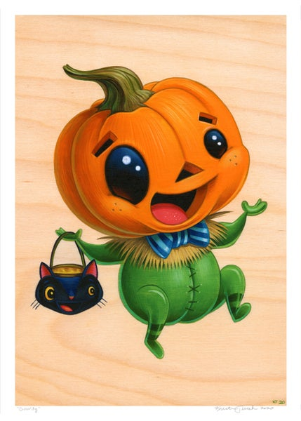 Image of Gourdy Giclee