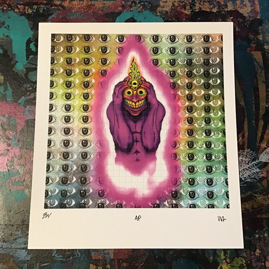 "Image of Prying Open My Third Eye ""blotter"""